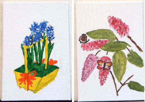 More Flower Paintings