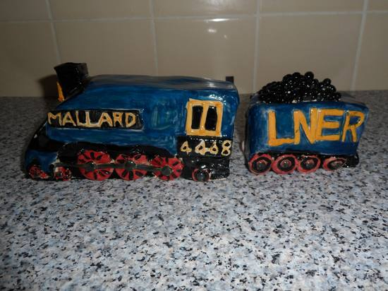 Pottery train 2