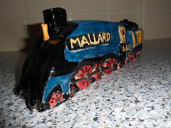 Pottery train 3