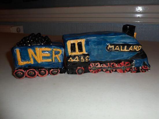 Pottery train 1
