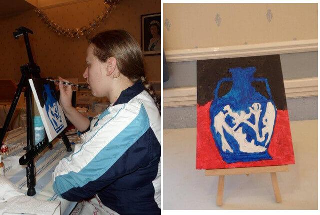 Vase Painting