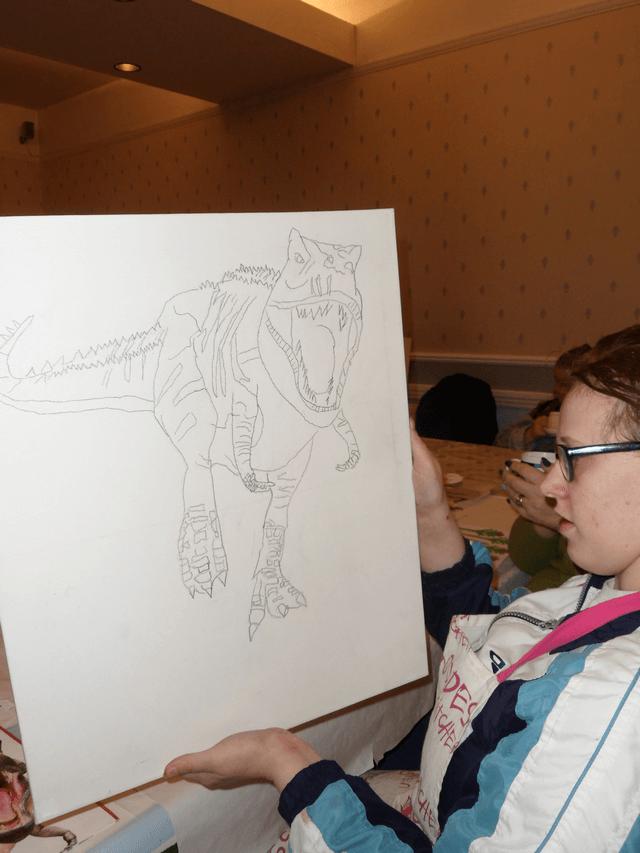 Drawing Dinosaur 3