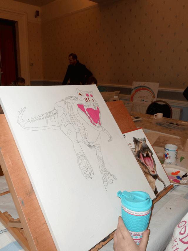 Drawing Dinosaur 4