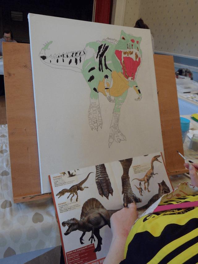 Drawing Dinosaur 5