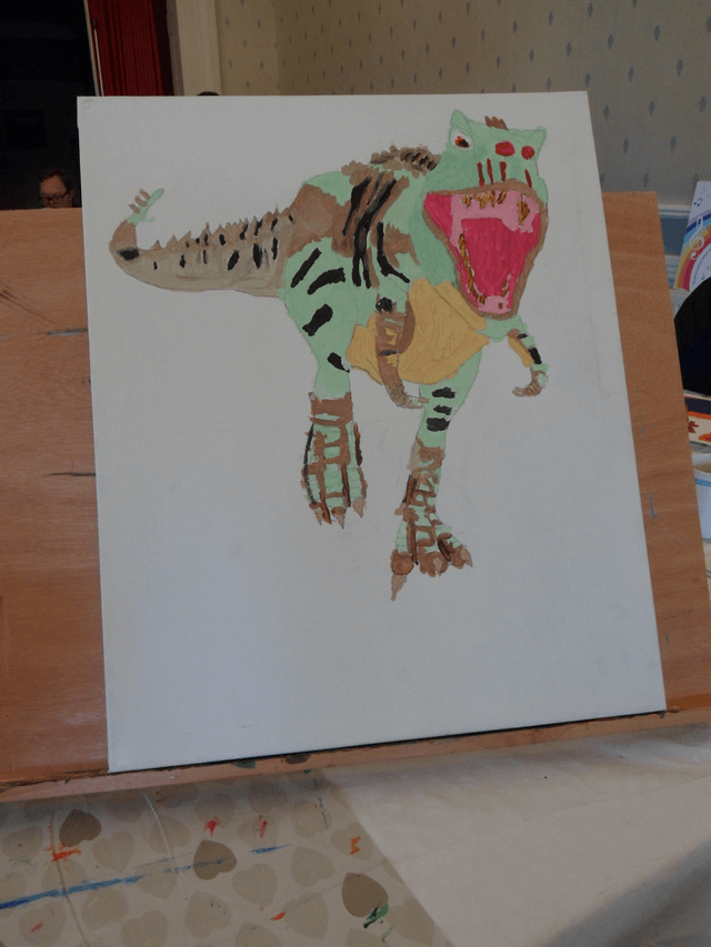 Drawing Dinosaur 6