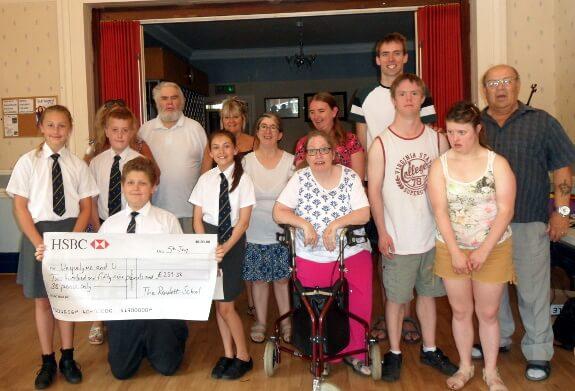 Rawlett School Cheque